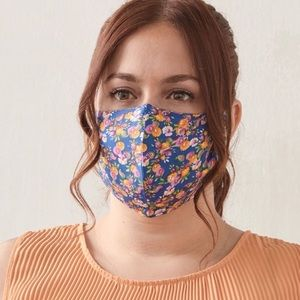 LOT of 6 Fabric Face Masks